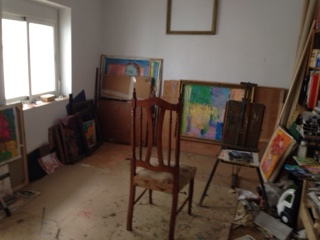 Casa de pintor 画家の家