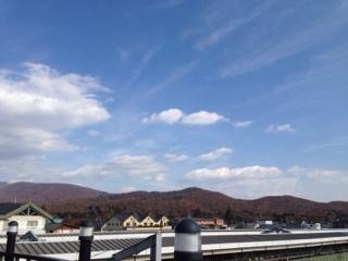 本日軽井沢