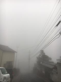 濃霧注意報